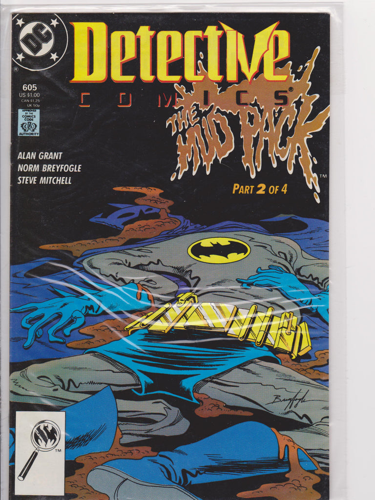 Detective Comics #605 NM 9.2 - The Dragon's Tail