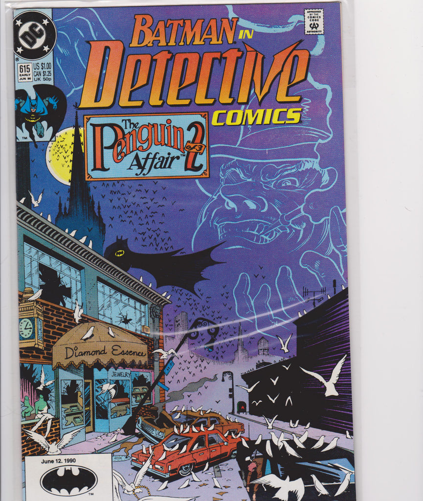 Detective Comics #615 NM 9.4 - The Dragon's Tail