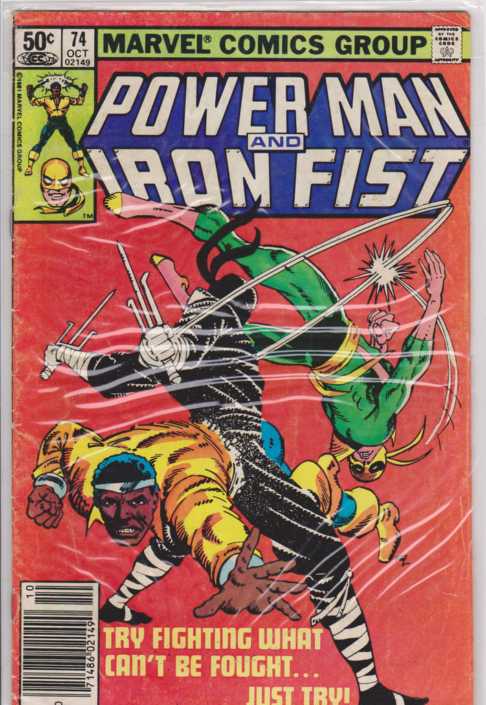 Powerman and Iron Fist #74 FN 6.0 - The Dragon's Tail