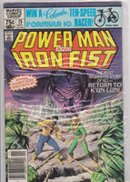 Powerman and Iron Fist #75 FN 6.0 - The Dragon's Tail