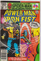 Powerman and Iron Fist #76 FN 6.0 - The Dragon's Tail