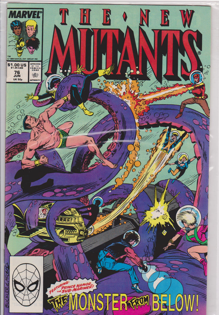 The New Mutants #76 NM 9.4 - The Dragon's Tail