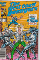 The West Coast Avengers #7 NM 9.6 - The Dragon's Tail