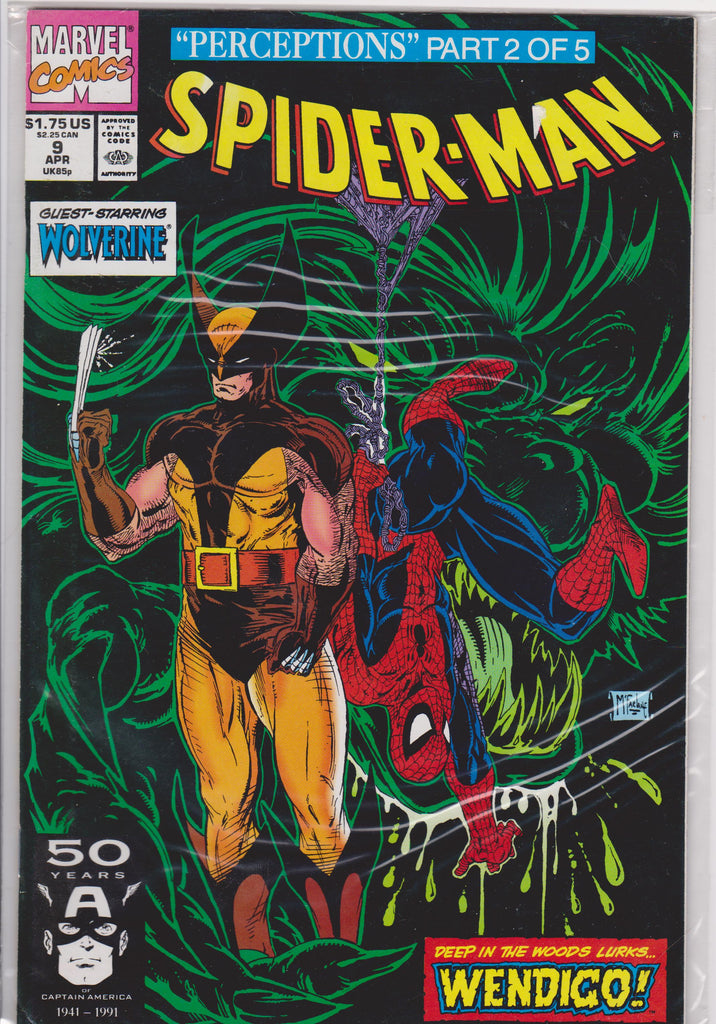 Spiderman #9 NM 9.8 - The Dragon's Tail