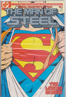 The Man of Steel Collectors Edition #1 NM 9.8 - The Dragon's Tail