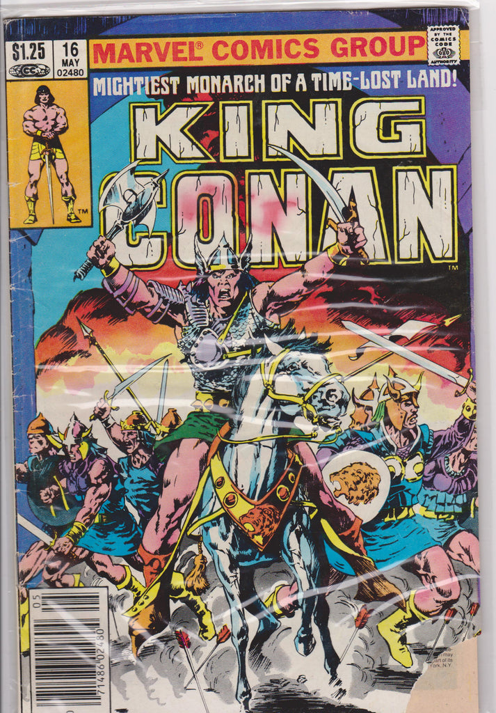 King Conan #16 G 2.0 - The Dragon's Tail