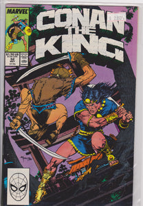 Conan the King #52 NM 9.4 - The Dragon's Tail