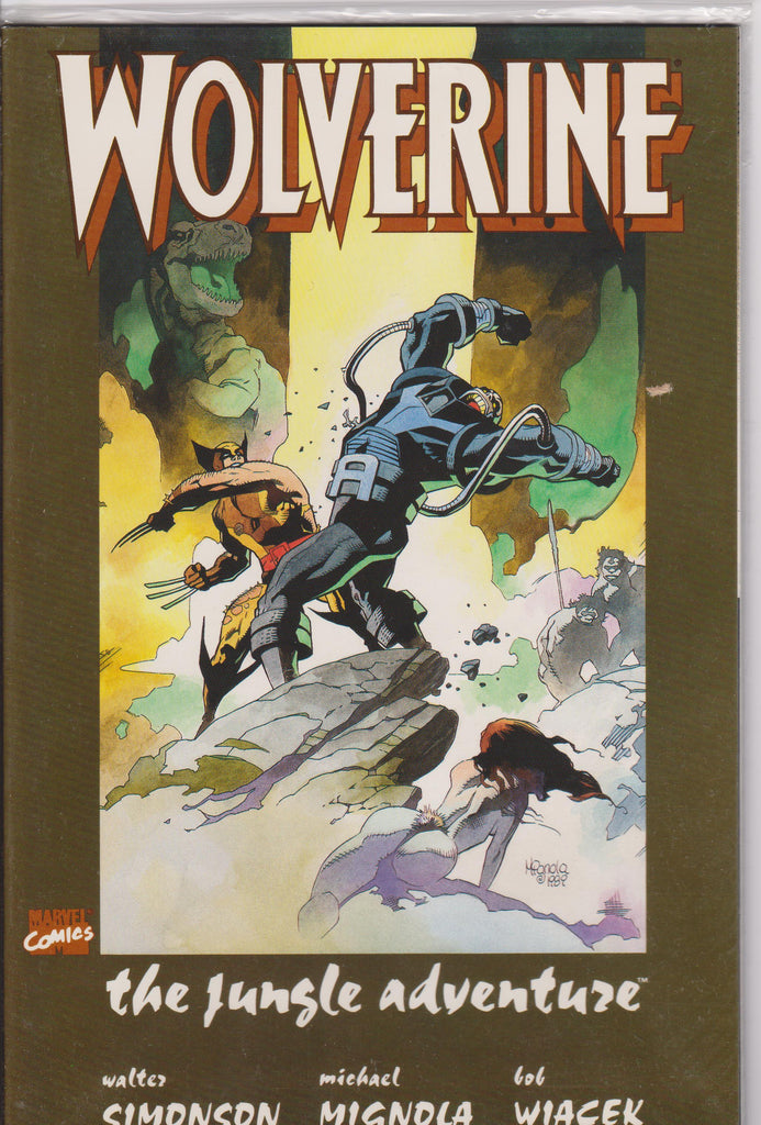 Wolverine The Jungle Adventure NM 9.8 - The Dragon's Tail