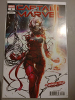 Captain Marvel #8 Lee InHyuk Variant NM