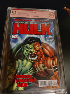 Hulk #30 Double signed CBCS verified 9.2! Signed by Ed Mcguinness and Dexter Vines!