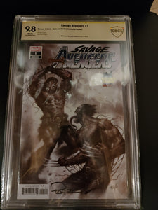 Savage Avengers #1 9.8 CBCS Signed by Lucio Parillo!