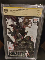 Immortal Hulk 17 Signed by Inhyuk Lee 9.8 CBCS!
