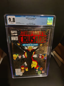Infinity Crusade CGC graded 9.8 Gold Foil cover