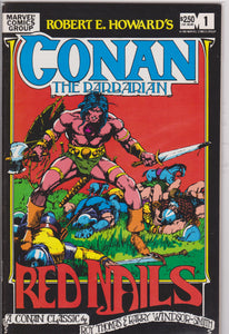 Conan the Barbarian Red Nails NM 9.4 - The Dragon's Tail