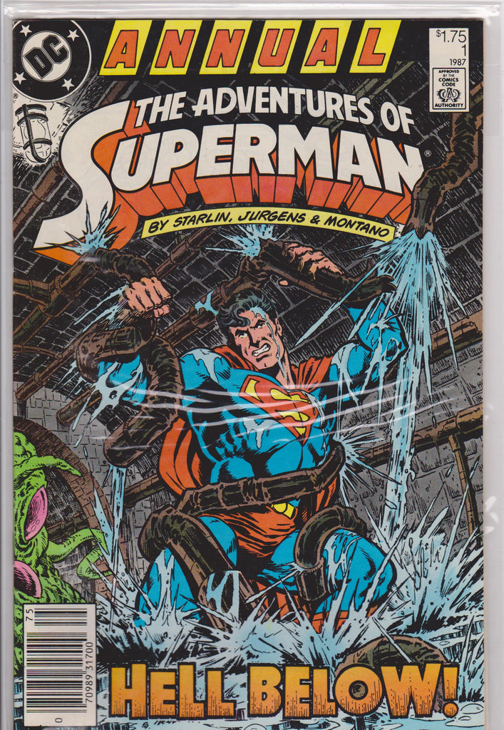 The Adventures of Superman Annual #1 - The Dragon's Tail