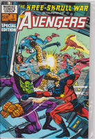 The Kree Skrull War Starring the Avengers #1 NM 9.2 - The Dragon's Tail