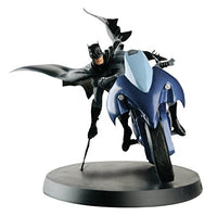 DC Superhero Batman and Batcycle Best Of Figure with Collector Magazine #1 Eaglemoss