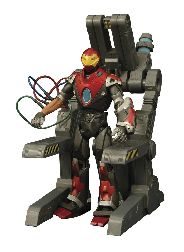 MARVEL SELECT ULTIMATE IRON MAN ACTION FIGURE - The Dragon's Tail