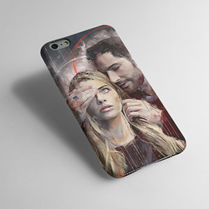 Lucifer- Netflix - Mobile cover