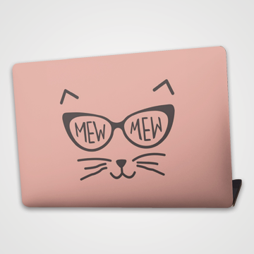 Mew Mew - Cat - Laptop Skin