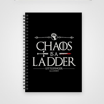Chaos Is A Ladder - Game of Thrones - Notebook