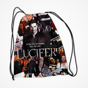 Lucifer- Netflix - Drawstring Bag