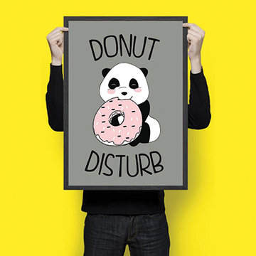 Donut Disturb  - Wall Hangings