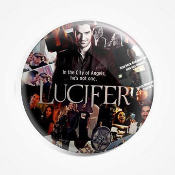 Lucifer- Netflix - Badge