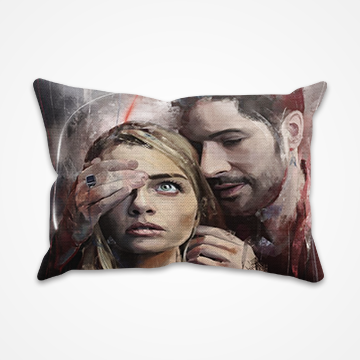 Lucifer - Netflix - Pillow Cover