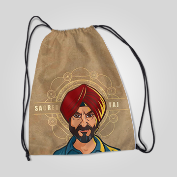 Sacred Taj - Sacred Games - Drawstring Bag