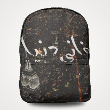 SALE - Faani Duniya - Allover Printed Backpack
