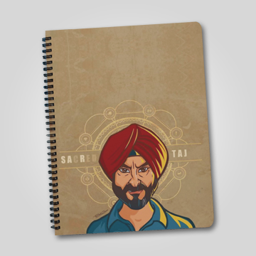 Sacred Taj - Sacred Games  - Notebook