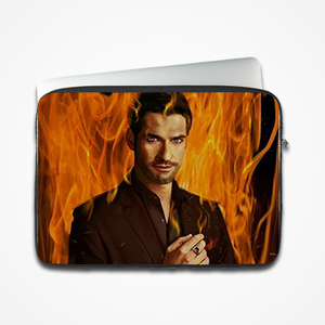 Lucifer- Netflix - Laptop & Tablet Sleeve