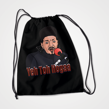 Yeh Toh Hoga - Laddan Jaffery - Drawstring Bag