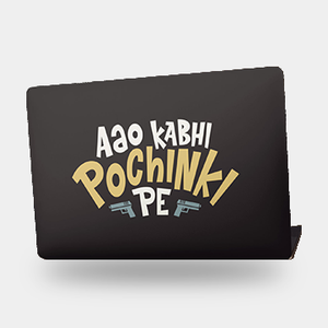 Aao Kabhi Pochinki Pe - Laptop skin