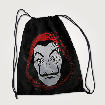 Money Heist- Drawstring Bag