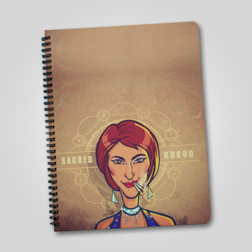 Sacred Kukoo - Sacred Games - Notebook