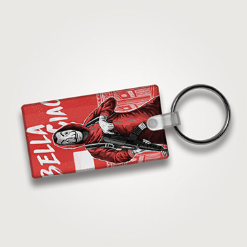 Bella Giao - Money Heist- Keychain