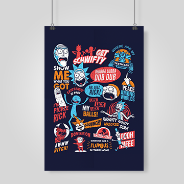 Rick And Morty - Wall Posters