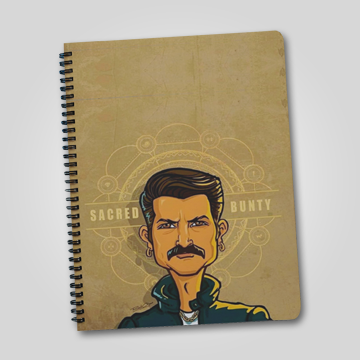 Sacred Bunty - Sacred Games - Notebook