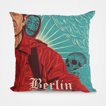 Berlin - Money Heist - Cushion