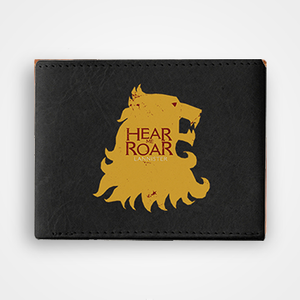 Hear Me Roar - Graphic Printed Wallets