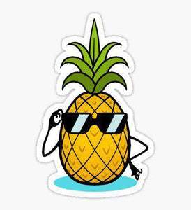Pineapple - Cutout Sticker