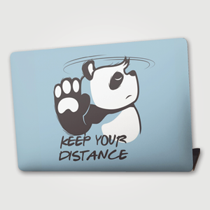Keep Your Distance - Laptop skin