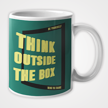 Think Outside The Box - Mug