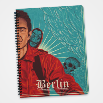 Berlin - Money Heist -  Notebook