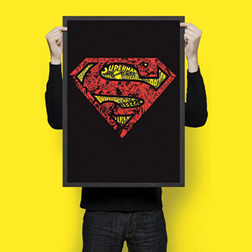 Supper man  - Wall Hangings