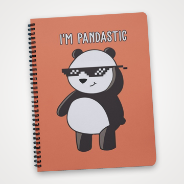 I'm Pandastic - Notebook