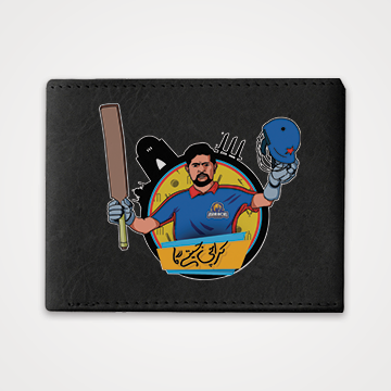 Babar Azam - Karachi Kings - PSL - Graphic Printed Wallets