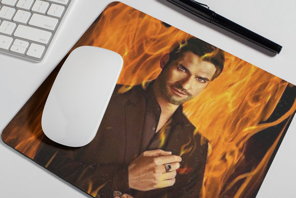 Lucifer- Netflix - Mouse Pad